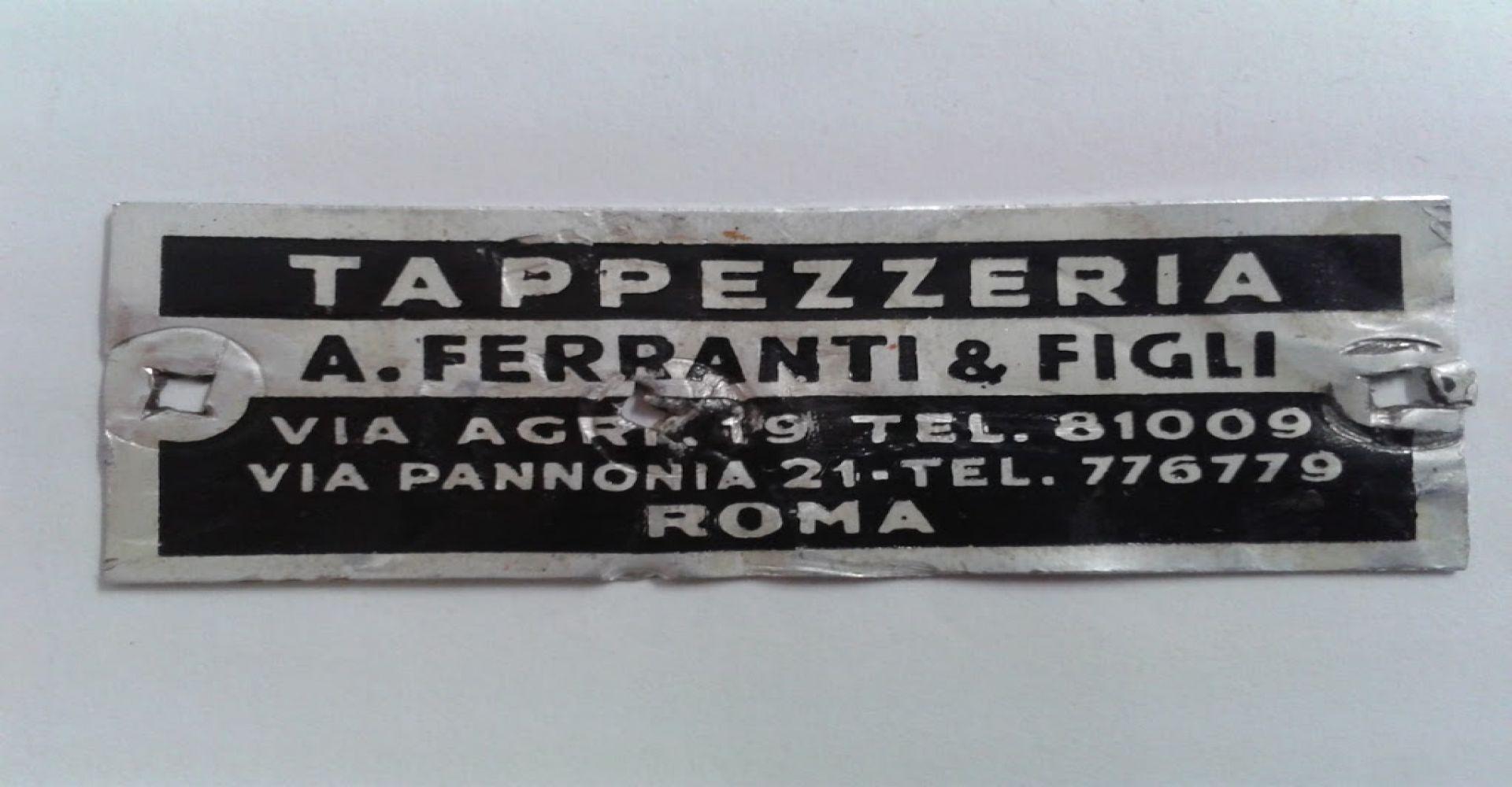 Forniture Per Tappezzieri Roma tappezzeria ferranti | laboratorio artigianale a roma dal 1928